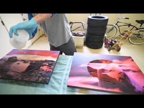ArtResin - How to artresin your Artwork & Photography (epoxy