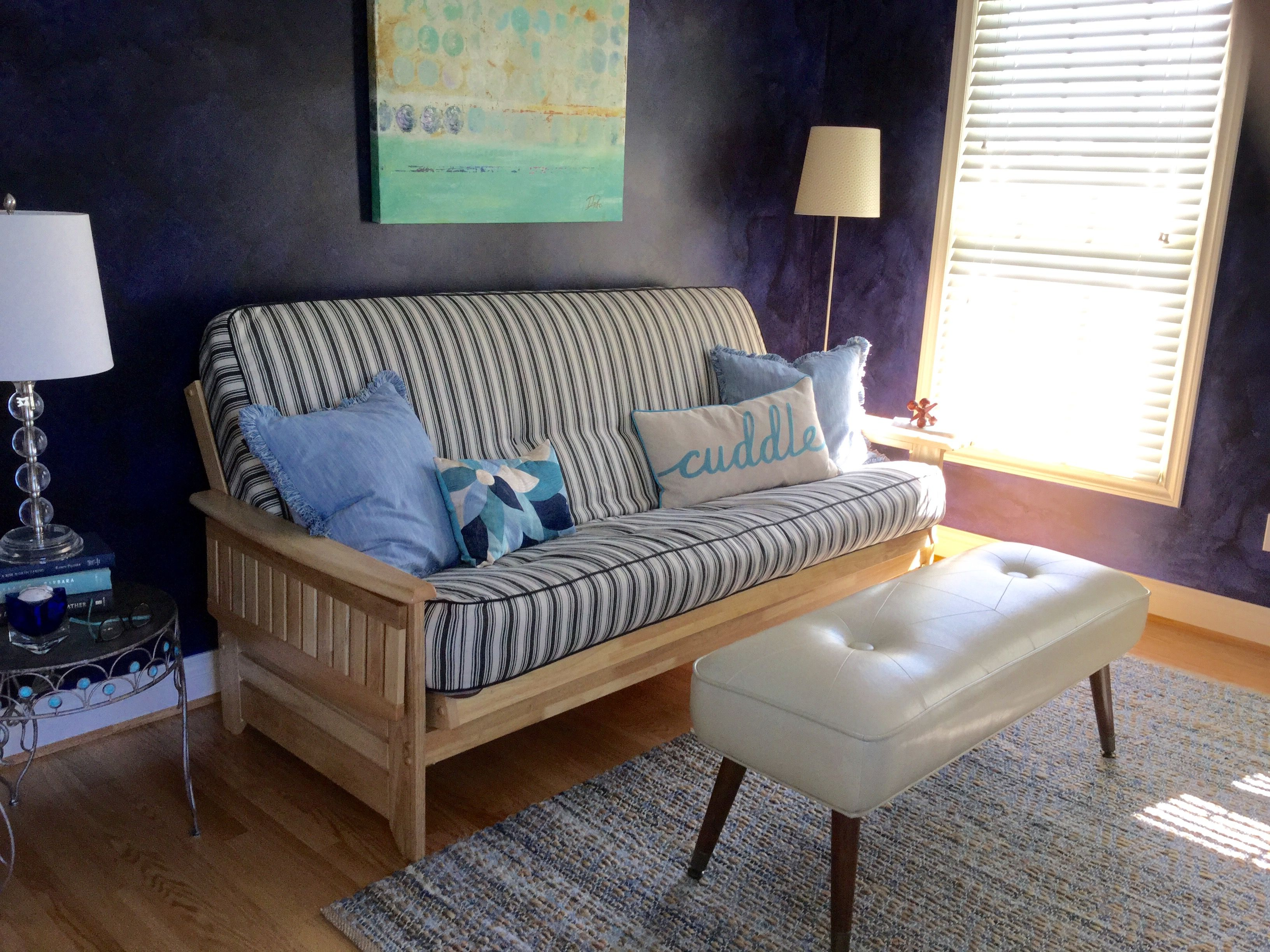 Diva Den With Tv And Treadmill And Futon For A Guest Room S