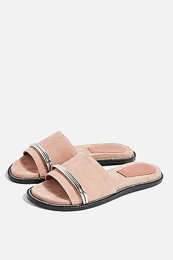 d111786f FLASH Nude Bar Sandals in 2019 | Products | Sandals, Shoes flats ...
