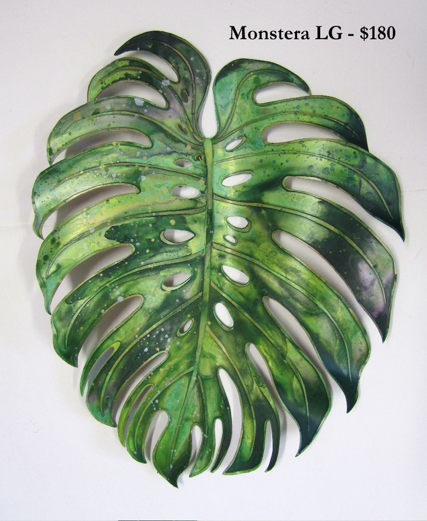 Monstera Leaf Painting Google Search Monstera Leaf In