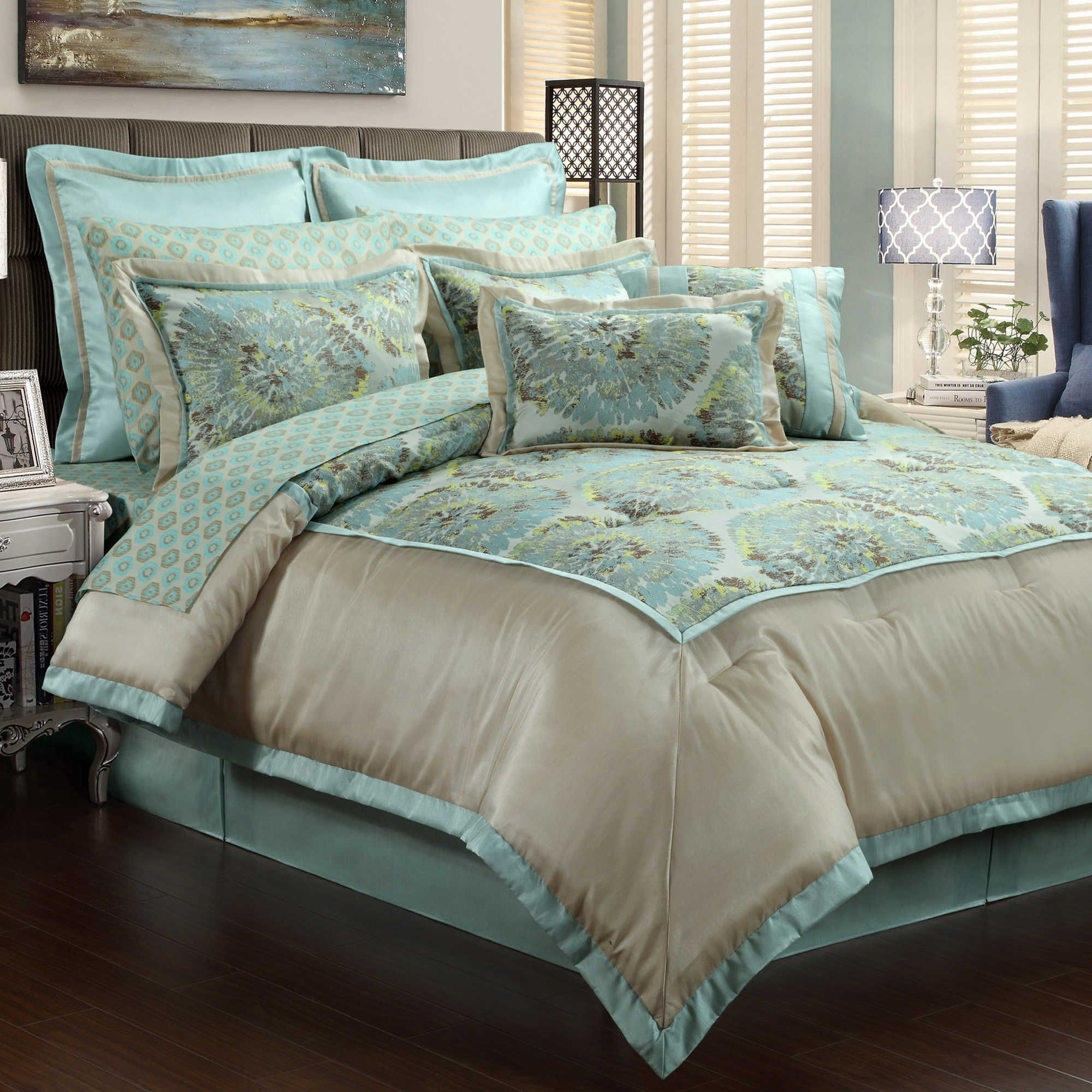 Queen new york luxembourg comforter set in antique silver bed - Bed Bath Beyond Metropolitan Comforter Set Shopstyle