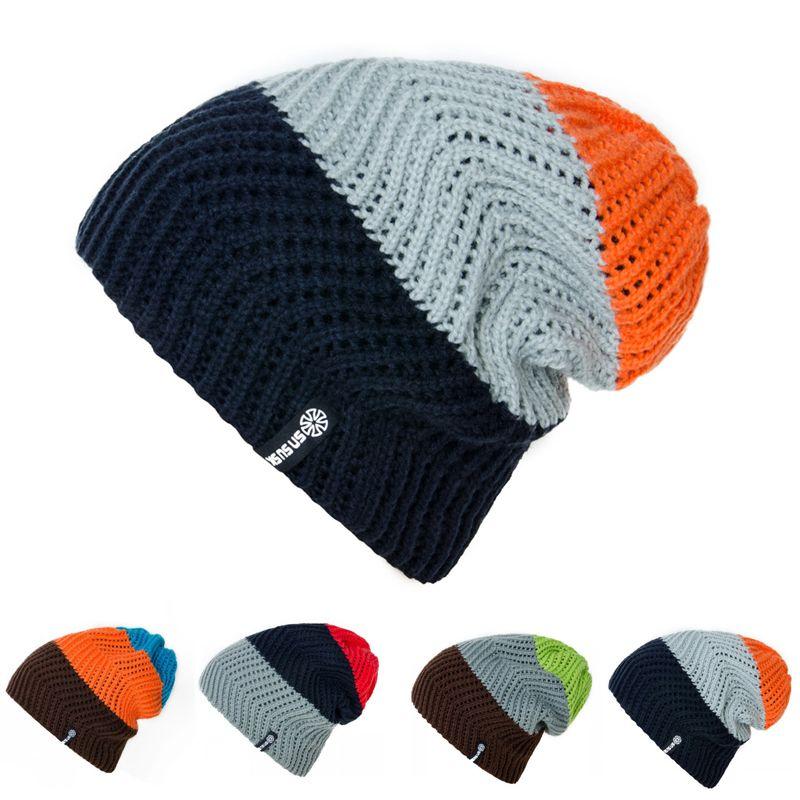 081c62a4099ab Women Winter Knitted Hats Gorro Beanie For Men Women Beanies Hat Bonnet  Outdoor Sport Skiing Chapeu