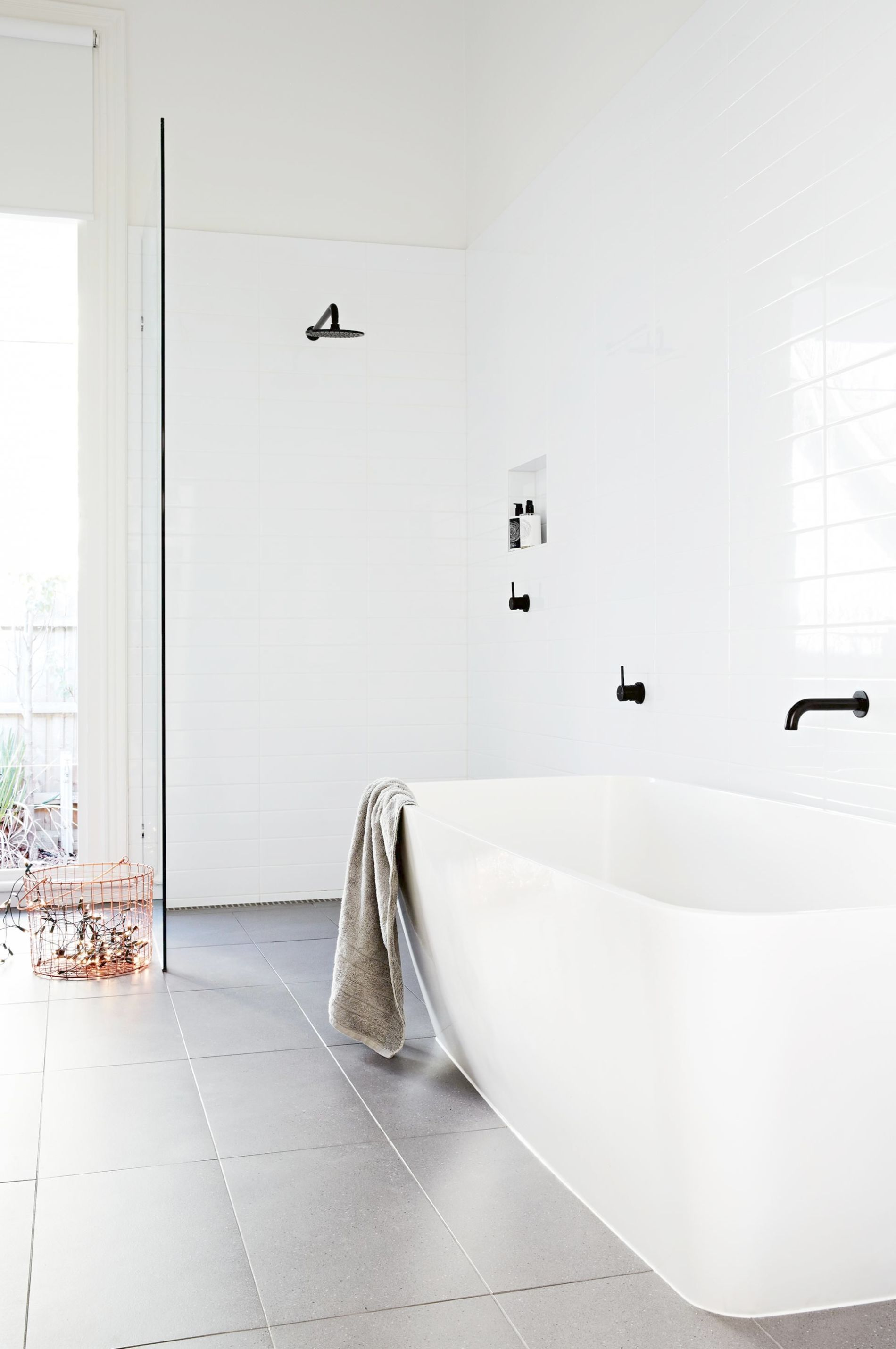 9 Modern White Bathrooms Styling By Heather Nette King Photography