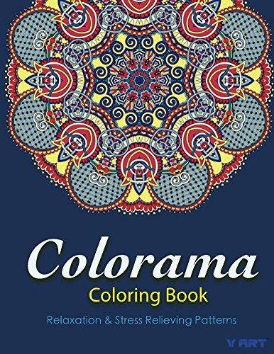 Colorama Coloring Book Books For Adults Adult 9 By V Art Amazon Dp B018IN7M1K Ref