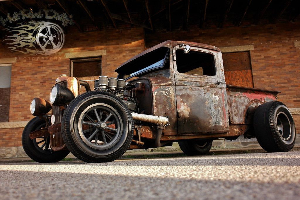 1932 Ford Model A Hot Rod Street Rat Rod Chopped Truck | 1932 ford ...