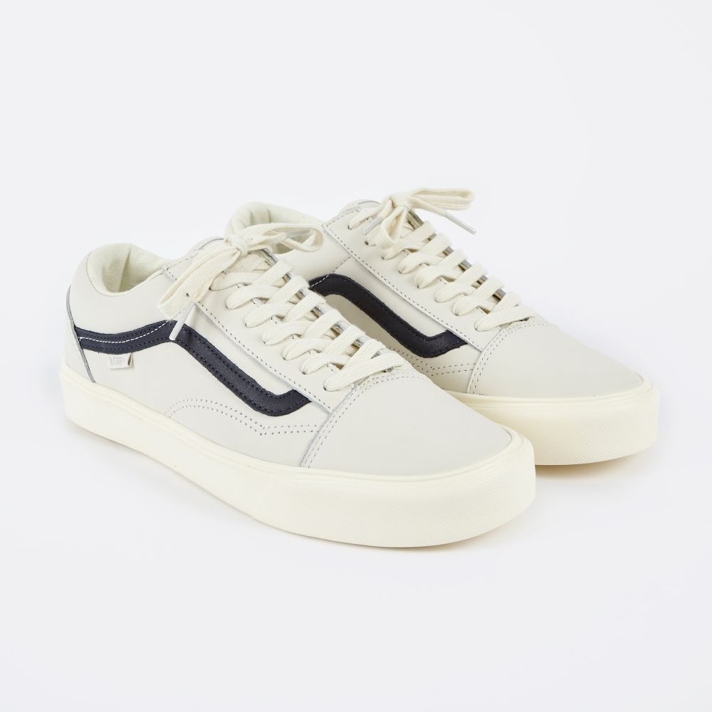 947e19322269a2 Vans Vault Old Skool Lite LX - Marshmallow Blue Nights (Image 1 ...