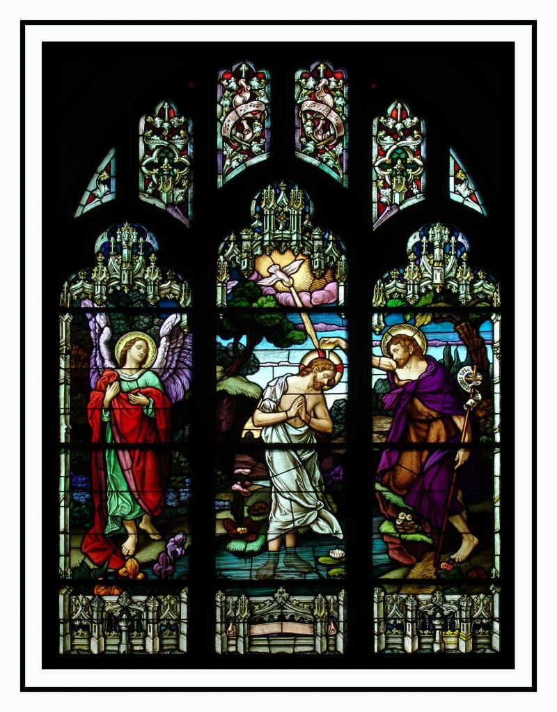 St. Joseph Church, Bristol, CT; Gallery of Stained Glass Art ...