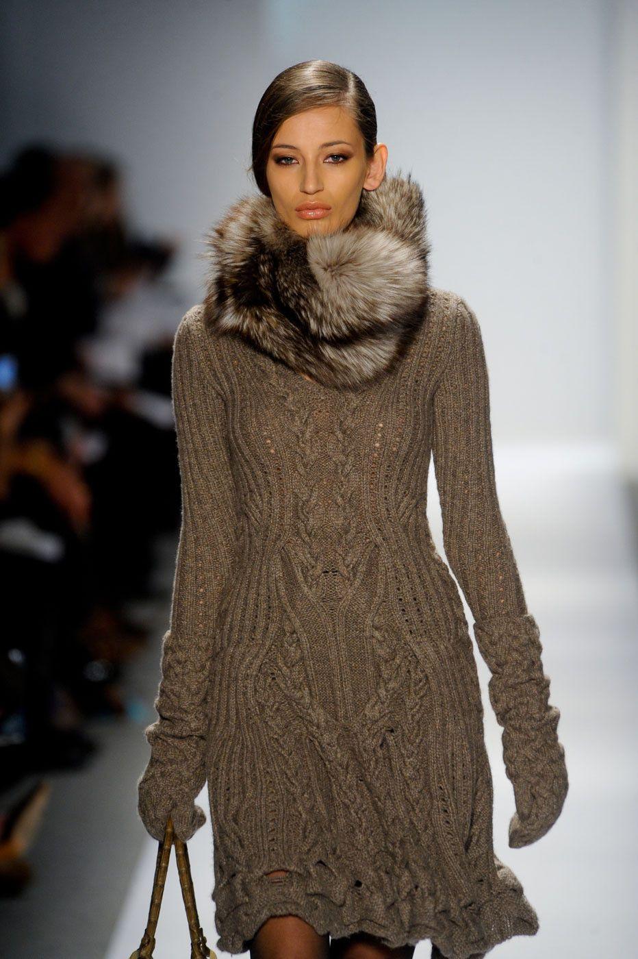 Dennis Basso at New York Fashion Week Fall 2011