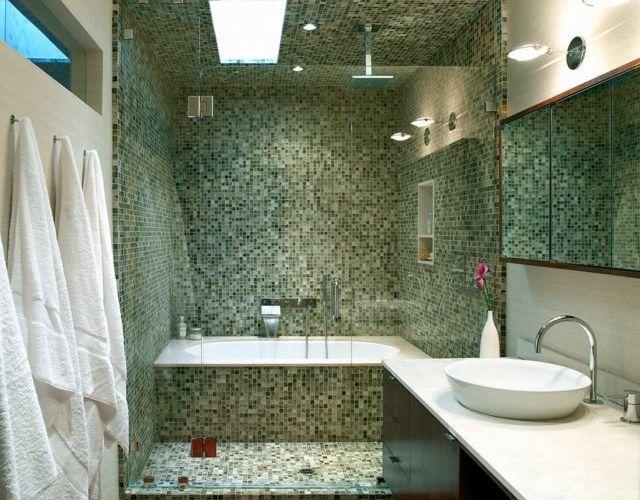 La Petite Salle De Bains Un Grand Défi Et Un Vrai Plaisir Small - Salle de bains mosaique