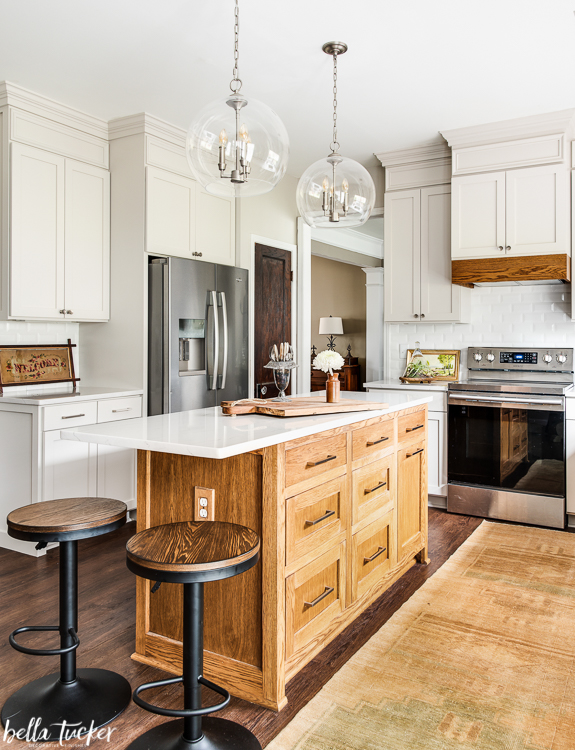 Melamine Cabinet Refacing Kitchen Renovation - Bella ...