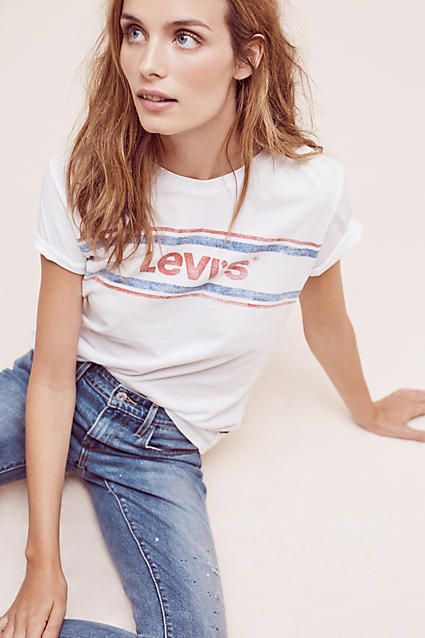 4cecc3a1 ... tshirts like this for work. Levi's Vintage Logo Tee. Women's Tops ...