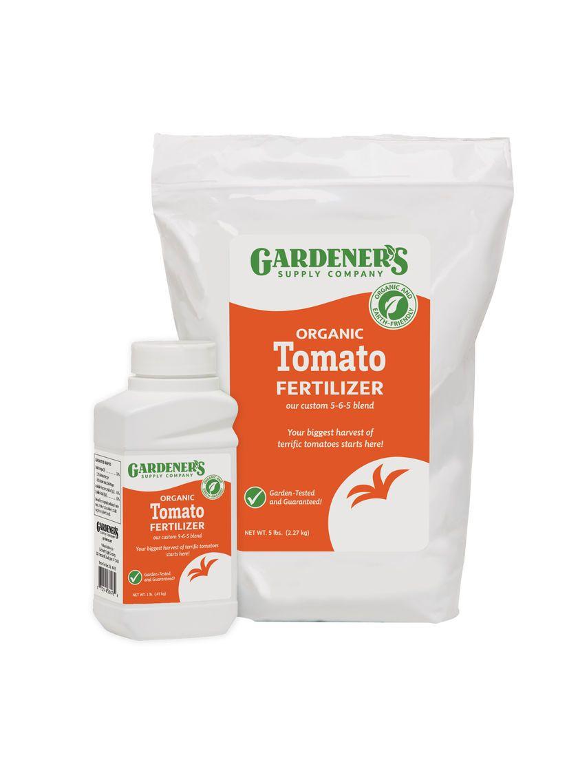 Organic Tomato Fertilizer Tomato Food 5 6 5 Gardener S Supply