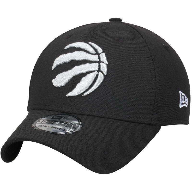 896569fab3aae3 Toronto Raptors New Era Team Classic 39THIRTY Flex Hat - Black ...