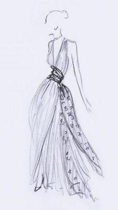 Dior Fashion Sketches