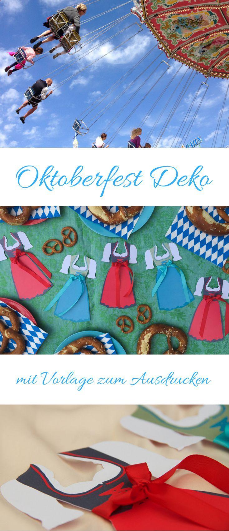 Oktoberfest Dirndl und Partyideen