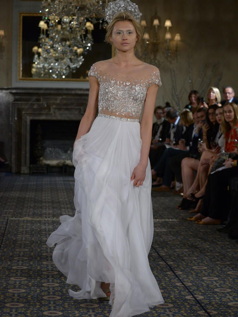 Mira Zwillinger's Shimmering Wedding Dresses Are Inspired by ...
