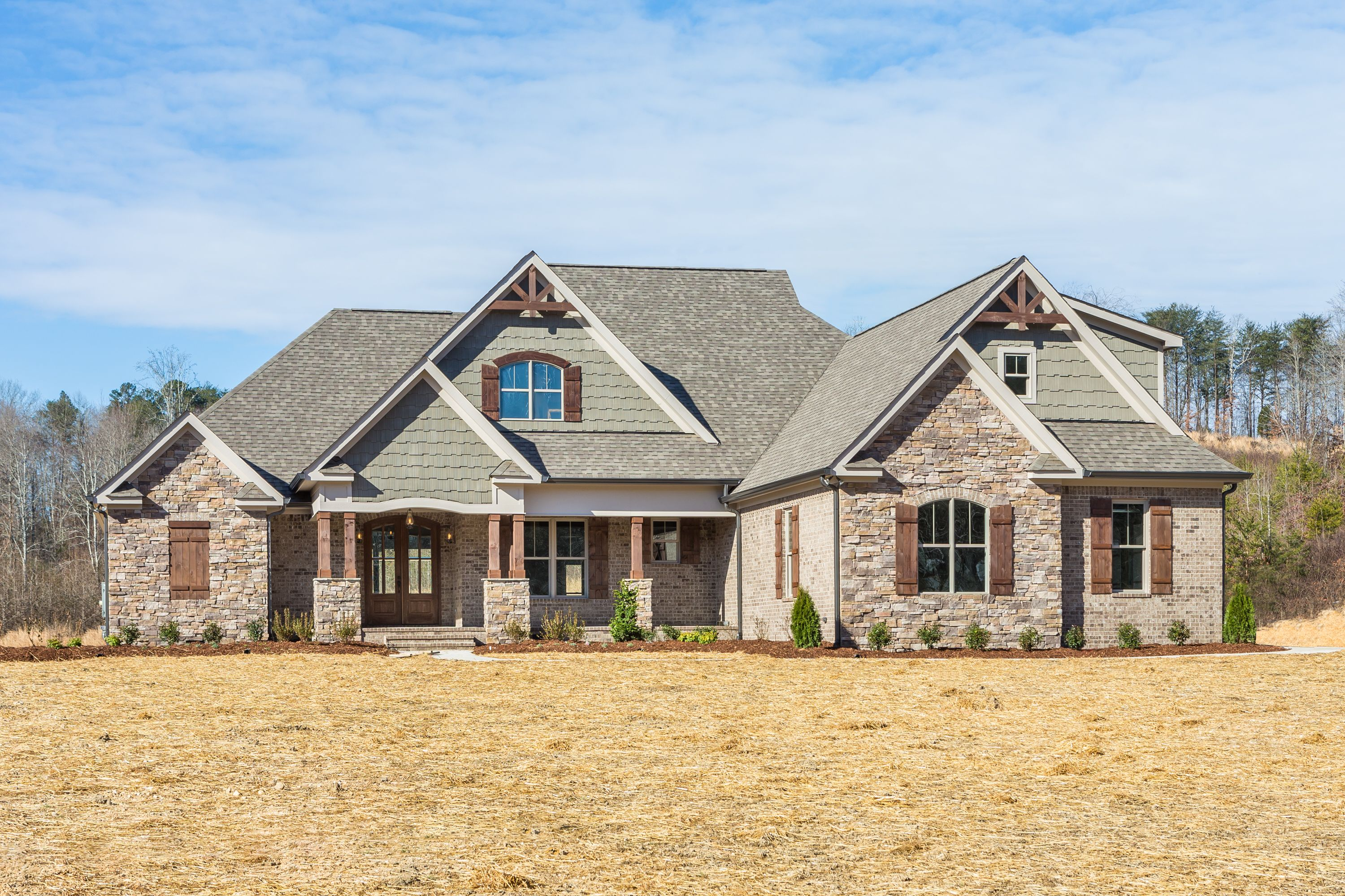 Wisteria floor plan constructed for a custom build in Soddy Daisy