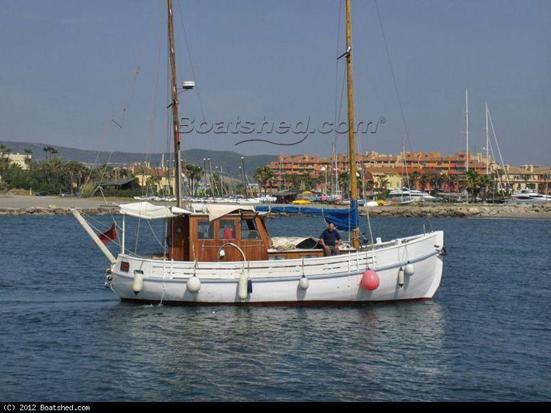 Wooden Classic MFV Ex Swedish Trawler | Boat classic | Boat