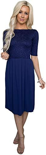 Buy Jen Clothing Jada Modest Dress, Modest Bridesmaid Dress  Modest Prom Dress online - Topbrandspremium #modestprom