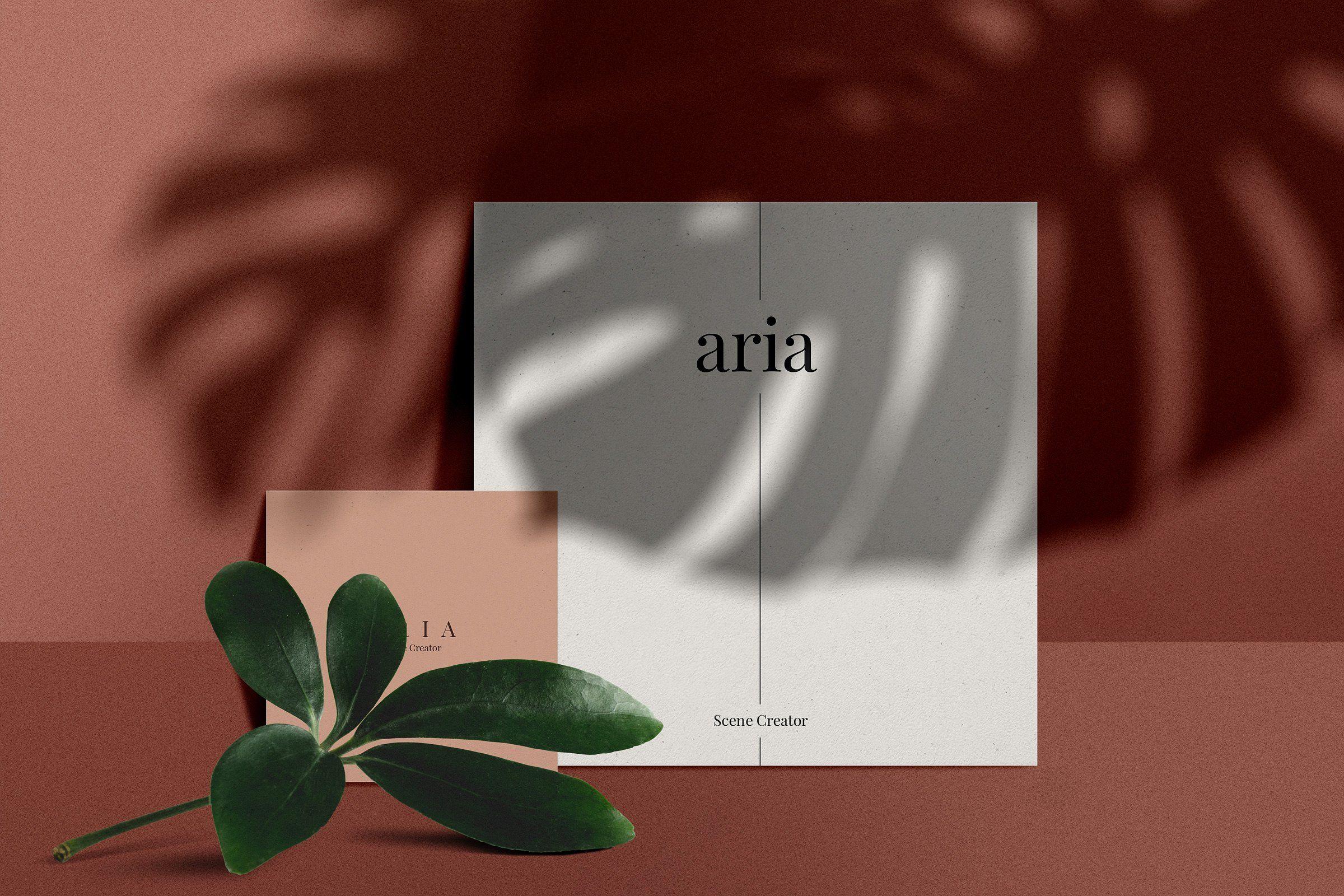 Aria Mockup Scene Creator Scene Creator Brochure Template Psd Scene