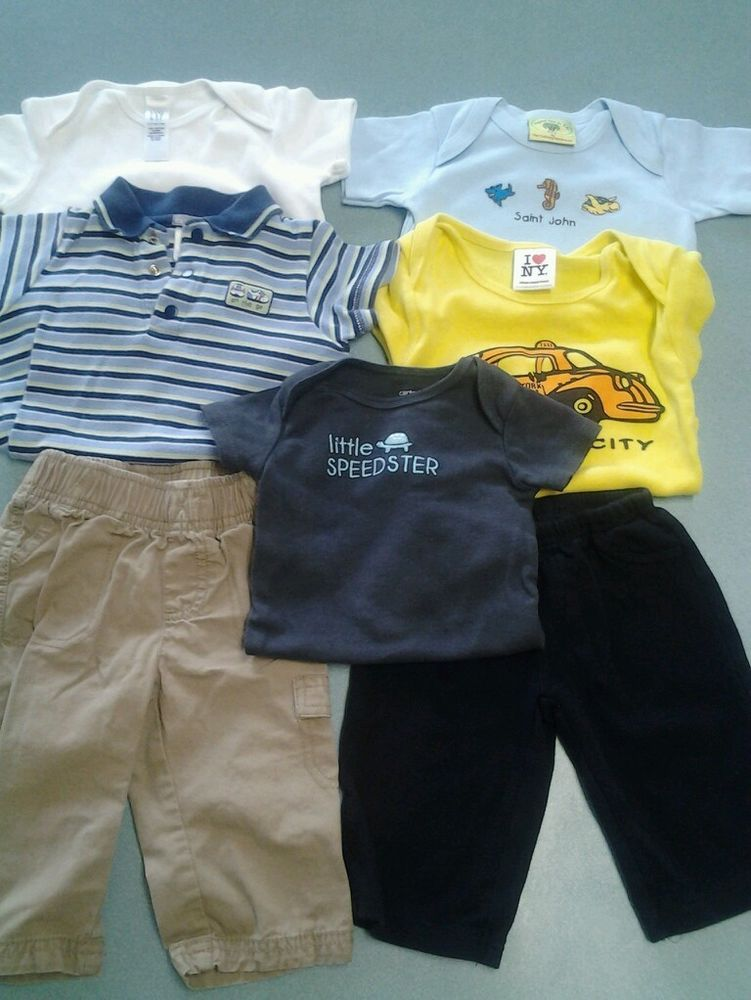 Baby Boy Clothes Size 6 9 6 12 Months Infant Carters Baby Gap Summer