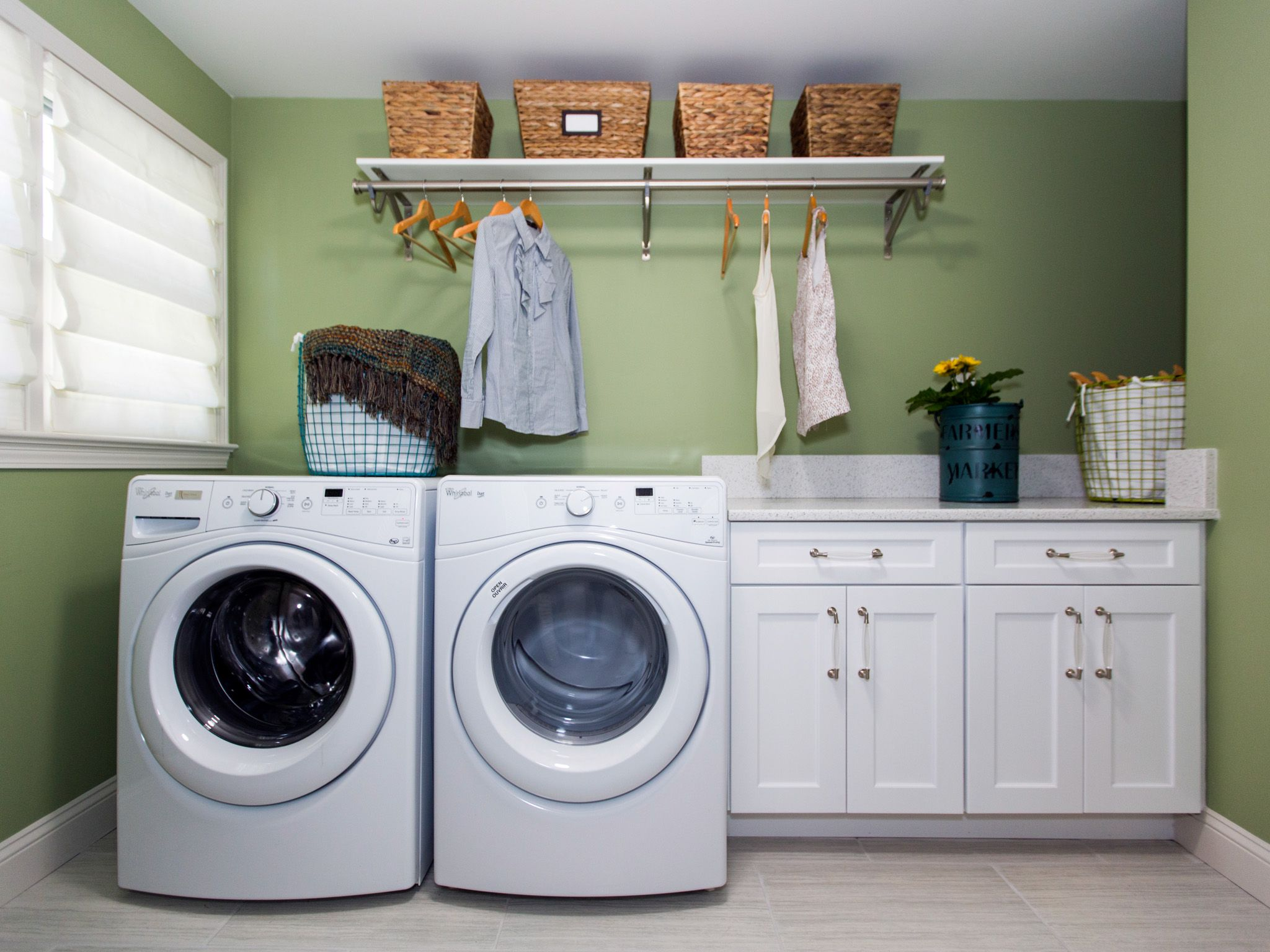 The laundry room should not be overlooked when creating a ...