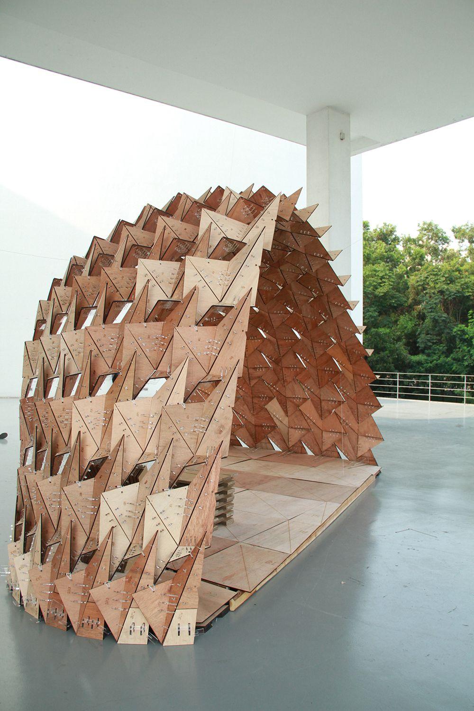 Parametric methodology pavilion shenzhen china for Arquitectura parametrica pdf
