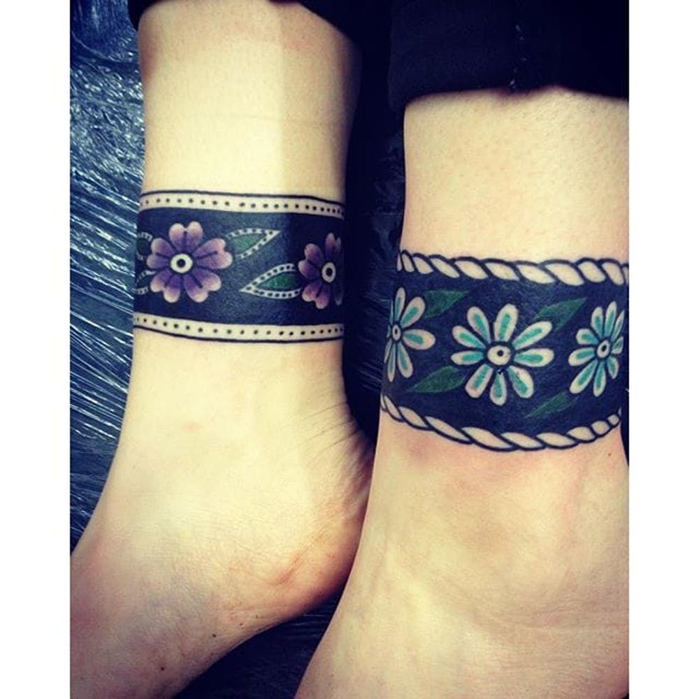 Image Result For Cuff Tattoos For Women: Cuff Tattoo, Ankle Band Tattoo