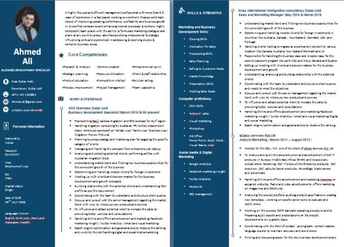 Best resume writing service 2014 dubai
