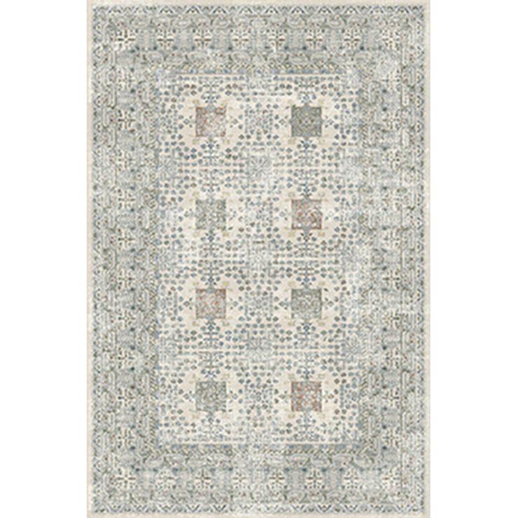 5 X7 Area Rug Solana Gray Threshold With Images Boho Area