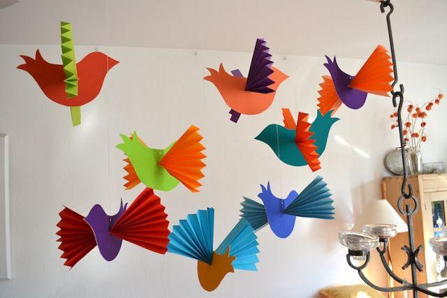 fadenspiel und fingerwerk alle v gel sind schon da basteln schule basteln vogel basteln. Black Bedroom Furniture Sets. Home Design Ideas