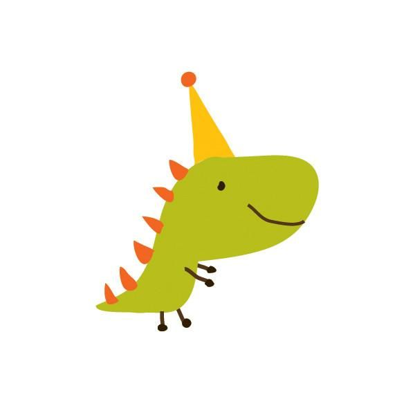 Party Dino #dinosaurillustration