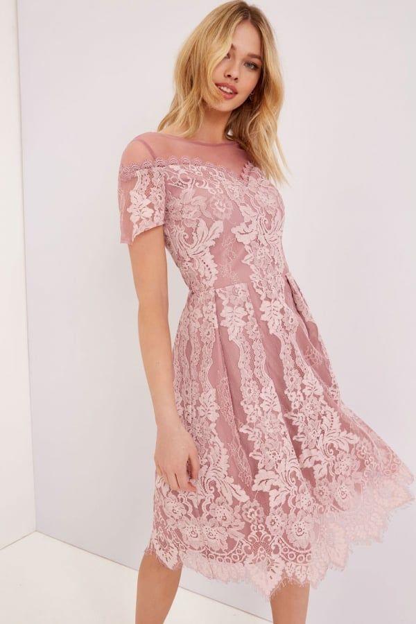 Little mistress bardot lace dress size 10