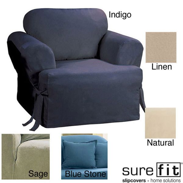 Merveilleux Sure Fit Duck Solid Dining Room Chair Slipcover | Dining Room Chair  Slipcovers, Chair Slipcovers And Products.