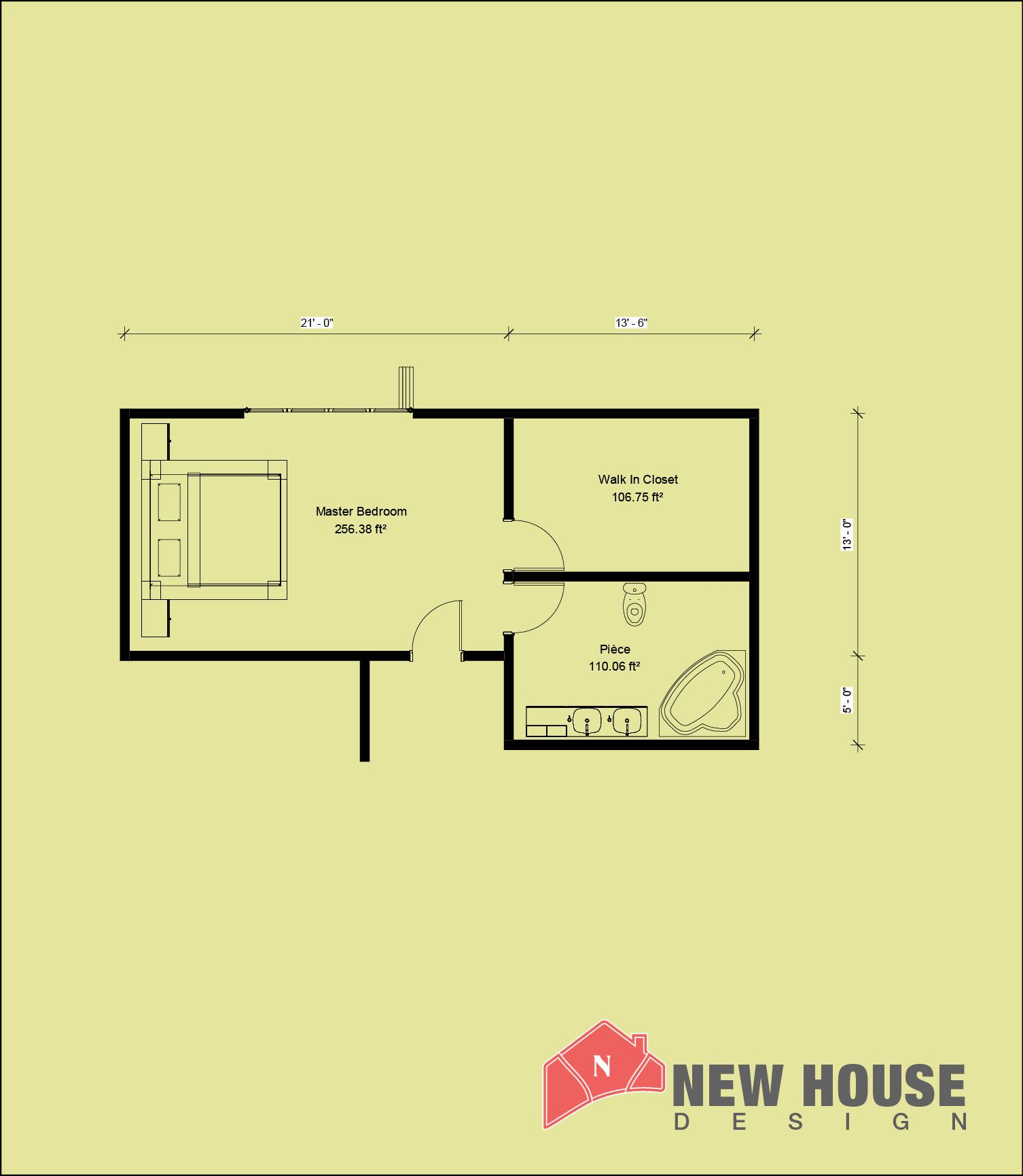 Master Bedroom Plans With Bath And Walk In Closet New House Design Master Bedroom Plans Master Bedroom Addition Master Bedroom