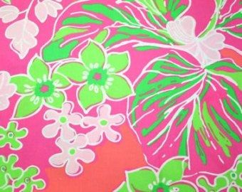 852c111a8cea25 Lilly Pulitzer Fabric Luscious Daiquiri Pink by MeggieLouFun | Ideas ...