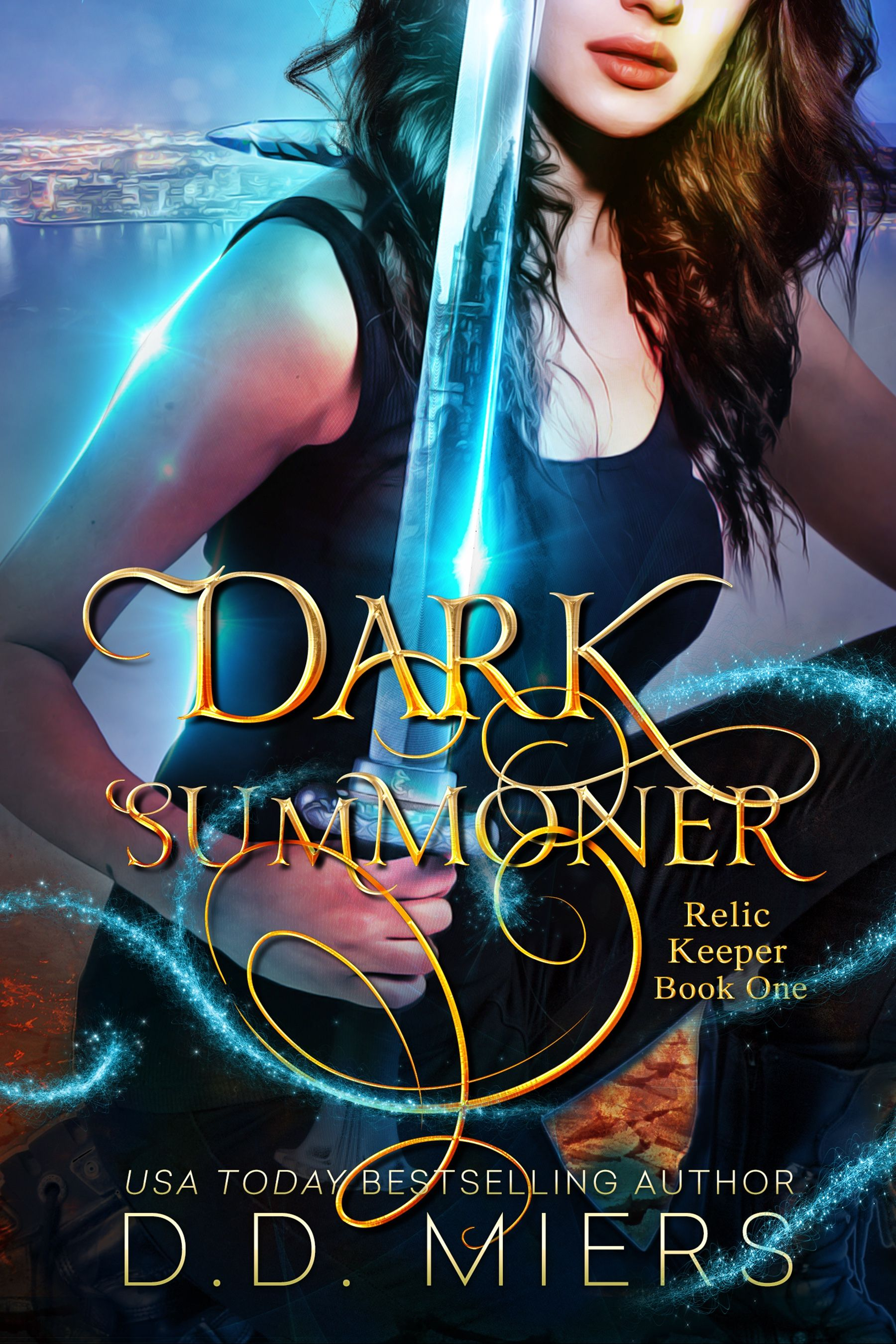 Dark Summoner 2018 Cover #USATodayAuthors #RelicKeeperSeries