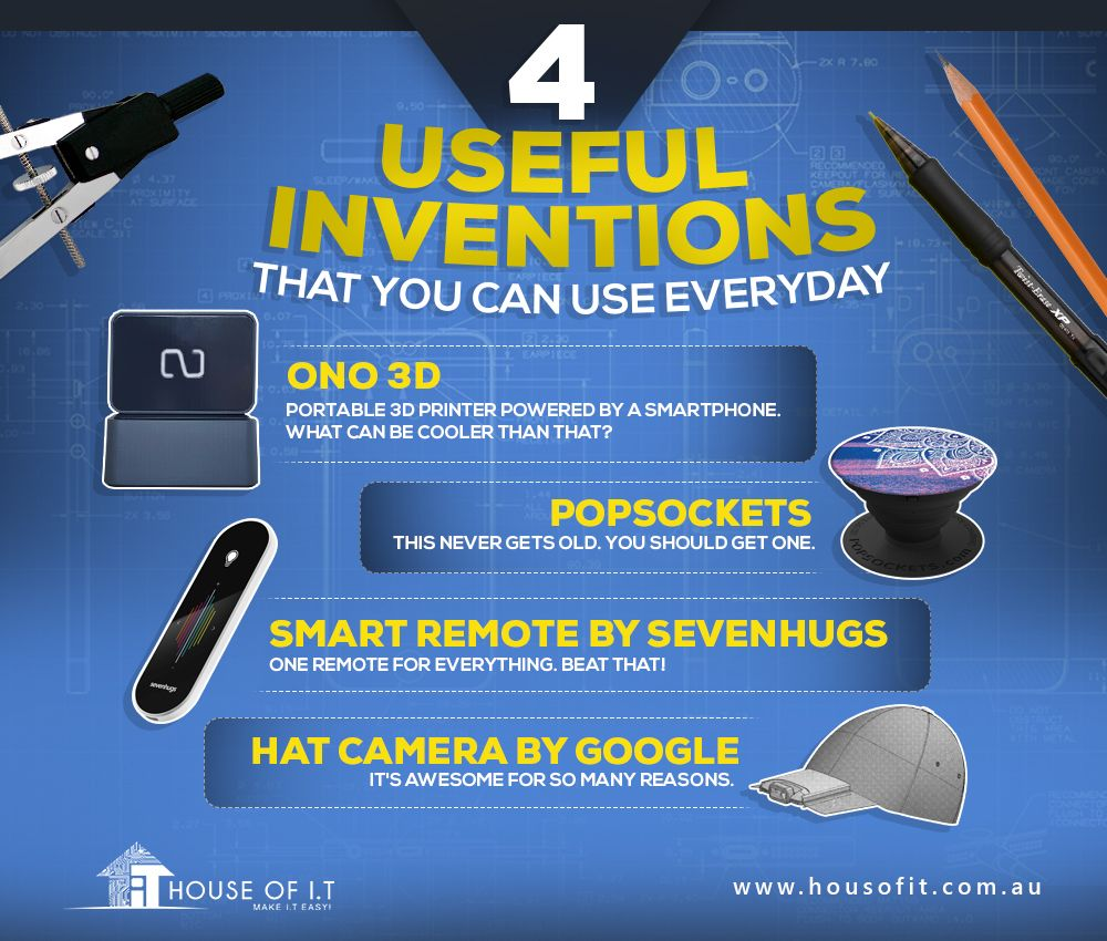 Get your hands on these awesome gadgets. NOW! https