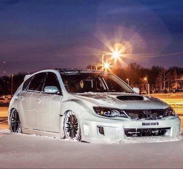 Subaru Impreza In Honor Of The Polar Vortex That Tormented Us In