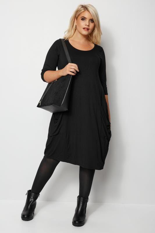 Verwonderlijk Zwarte jurk met zakken in 2020 (met afbeeldingen)   Zwarte jurk NG-64