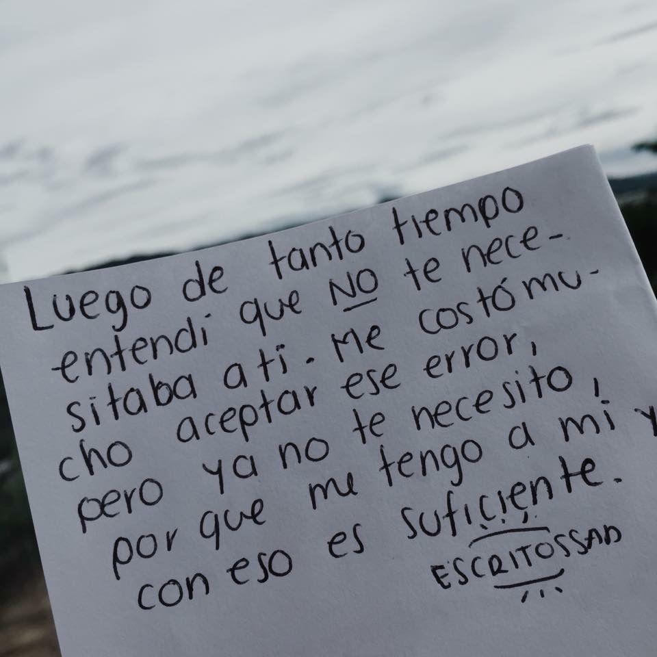 No Te Necesito Frases Para Reflexionar Frases Y Te Necesito