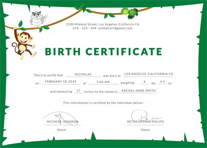 birth certificate order mississippi report coroner ms template templates certificates official form