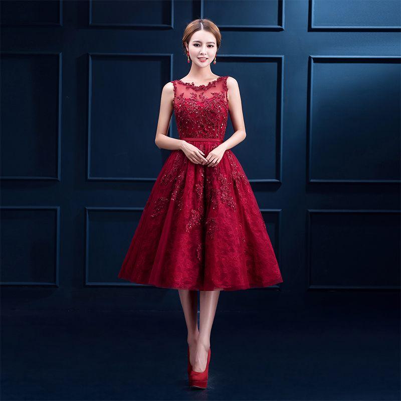 Find More Prom Dresses Information about O neck Shoulder Straps ...