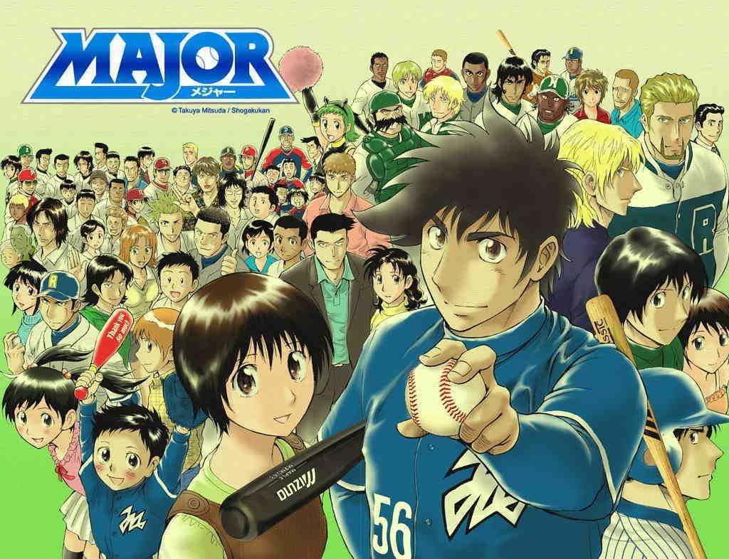Major S2 Subtitle Indonesia Batch Sports anime, Anime