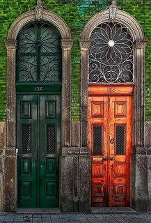 Porto Portas Rua Da 3º Porto Doors Beautiful Doors Entrance Doors