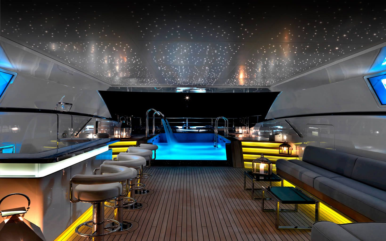 Superyacht interior design numptia