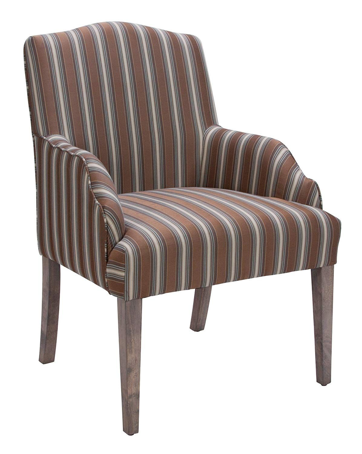 Homelegance 2516A Accent/Arm Chair (Set of 2), Stripe