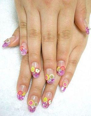 Fimo Nail Art Designs Nails Encapsulado Pinterest Fimo Nail