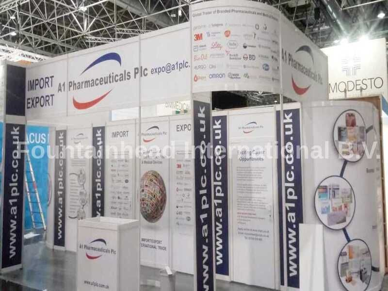 The Expopharm is an international pharmaceutical trade fair, which has established itself as a leading European trade fair for the pharmacy sector. It takes place once a year, alternating between Dusseldorf and Munich.  Here we assisted our existing client, who counted upon us for our cost-effective & qualitative services and got fully satisfied at the end too.  Get in Touch for more info or reach us @   #FountainheadInternational #ExhibitionDesign&Fabrication #Expopharmdusseldorf2019