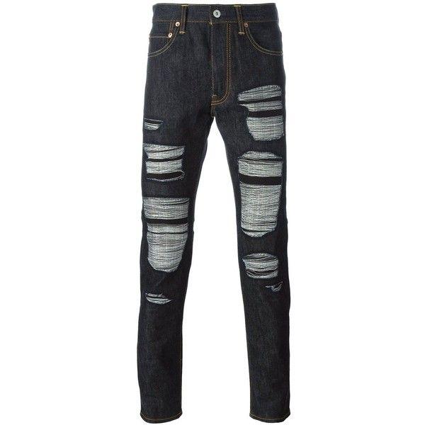 destroyed jeans Junya Watanabe Gbqzkgvyg2